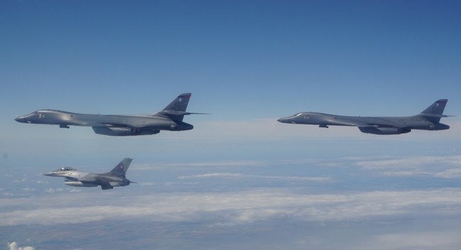 Bombardiere americane Romania