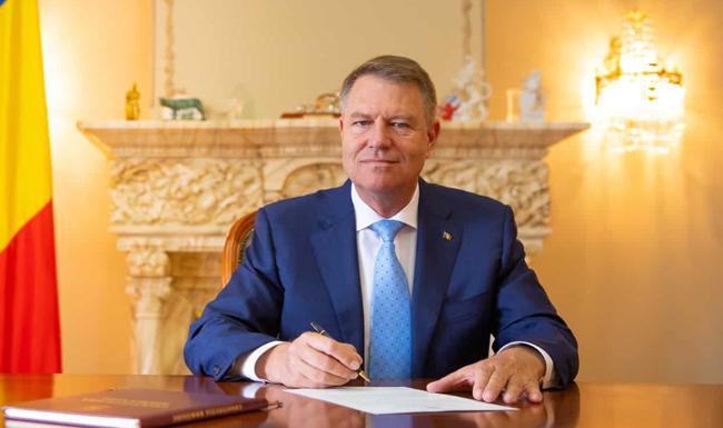 Klaus Iohannis semnare decret lege