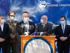 Contract de 275 de milioane lei pentru modernizarea a 10 aeronave IAR-99