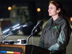 Simona Maierean prima femeie comandant de aeronavă în cadrul Heavy Airlift Wing din Europa